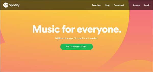 Spotify is one of the top best alternatives to MusicPleer.