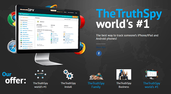TheTruthSpy is one of the top WhatsApp Hacker Apps.