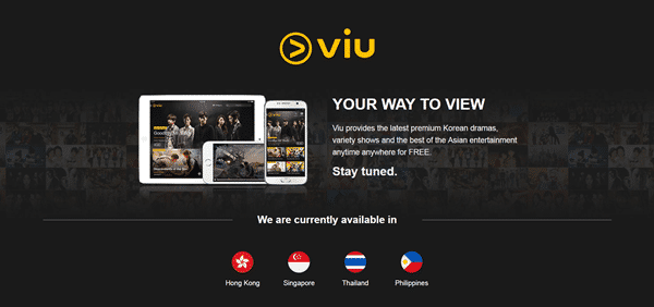 Viu is one of the best sites like KissAsian to watch asian movies/drama.