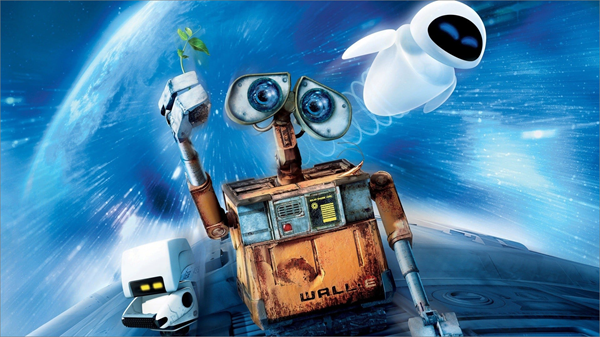 Wall-E is one of the top must Watch Movies Based on the Concept of Artificial Intelligence.