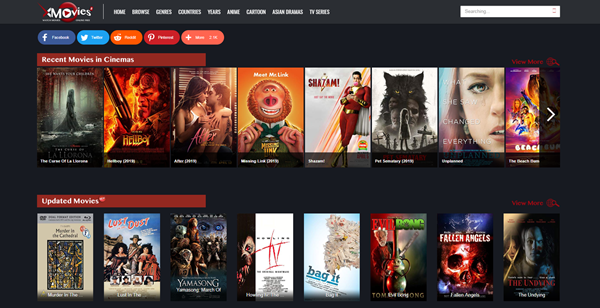 xMovies8 is one of the top best Alternatives to Megashare for Movie Watching.