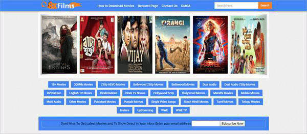 8XFilms is one of the best alternative sites similar to FilmLinks4U.