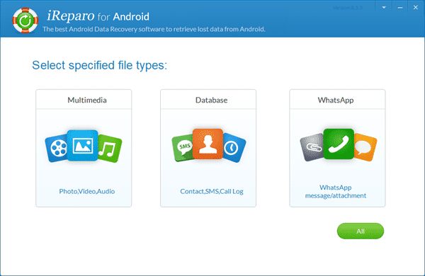 Android data recovery software tools.