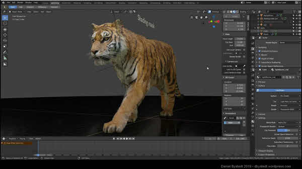Blender is one of the best visual effects video makers.
