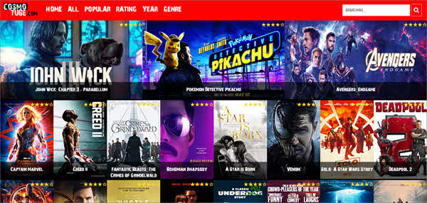 Cosmo Tube is one of the best free online movie streaming sites.