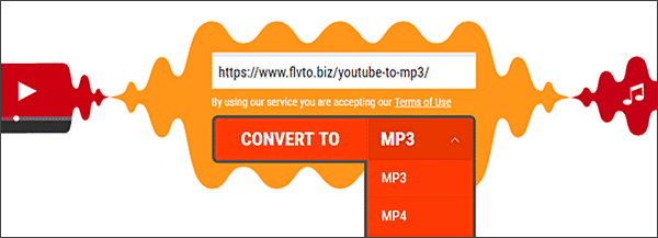Flvto is one of the best free online YouTube to MP3 converters.