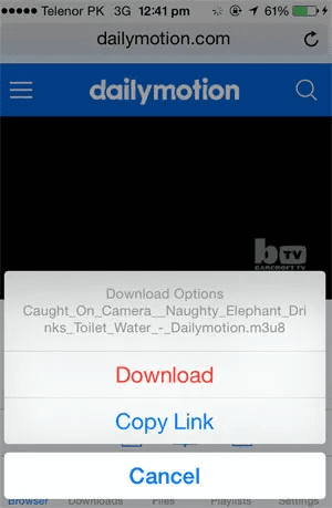 Free Video Downloader is one of the best free video downloader Apps for iPhone.