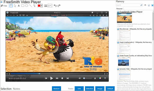 FreeSmith Video Player is one of the top best Blu-ray Players.