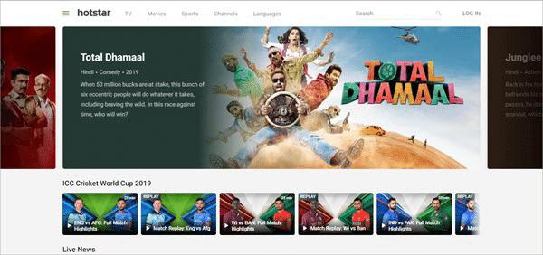 Hotstar is one of the best alternative sites similar to FilmLinks4U.