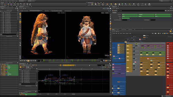 Houdini is one of the best visual effects video makers.