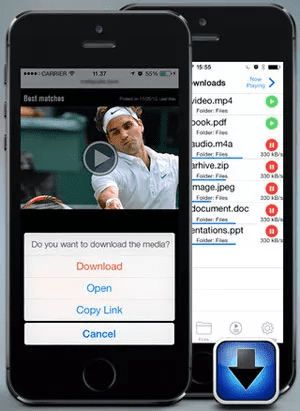 iDownloader is one of the best free video downloader Apps for iPhone.