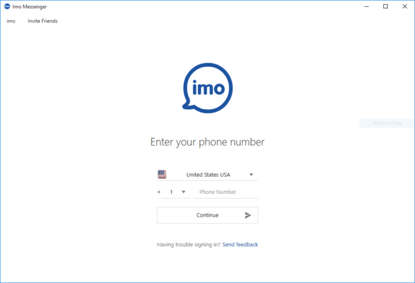IMO is one of the top video call software for Windows PC.