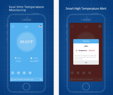 iThermonitor is one of the top free Thermometer Apps for Android and iOS.