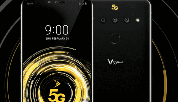 LG V50 ThinQ 5G is one of the best 5G supported Android mobiles.