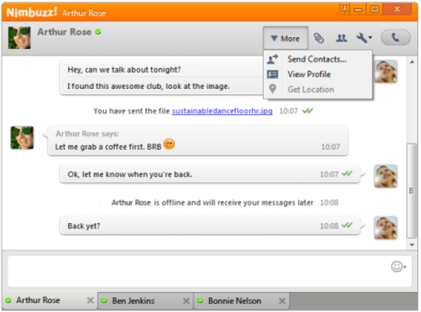Nimbuzz is one of the top video call software for Windows PC.