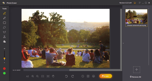 How to Remove Censored Parts from Photos