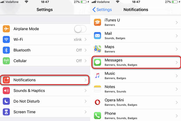 How to Hide iMessage Preview?