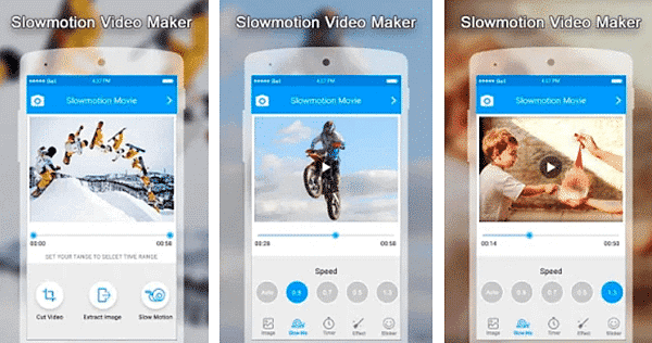 Slow Motion Video Maker is one of the top slow motion video and camera Apps for Android.