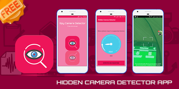 Spy Camera Detector and Locator is one of the best hidden camera detector Apps.