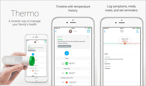 Thermo is one of the top free Thermometer Apps for Android and iOS.