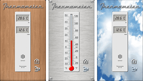 Thermometer is one of the top free Thermometer Apps for Android and iOS.