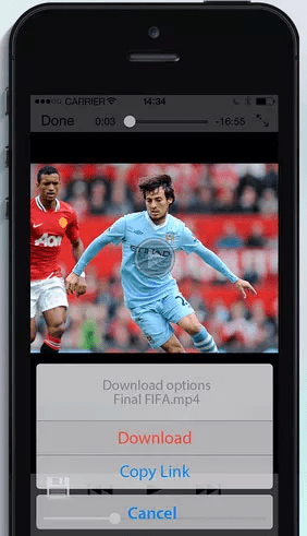 Video Downloader is one of the best free video downloader Apps for iPhone.