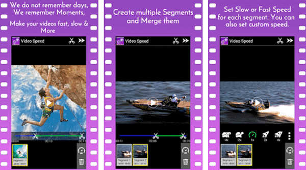 Video Speed Slow Motion & Fast is one of the top slow motion video and camera Apps for Android.