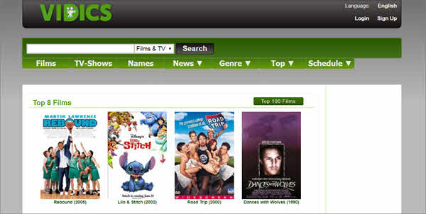 Vidics is one of the best free online movie streaming sites.