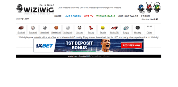 Wiziwig is one of the best Sports Streaming Sites Like MyP2P.