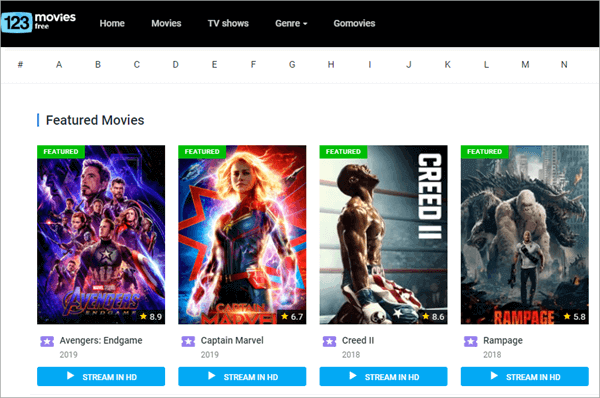 123MoviesFree is another free movie streaming site available to movie lovers for streaming all the movies in HD quality.
