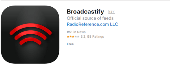 Broadcastify has its official website, which enables users to listen to the real-time public messages on any device having a web browser.
