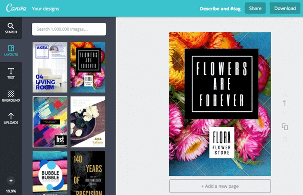 Using Canva to make your own wallpaper for your Android and iPhone.