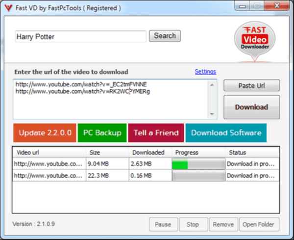 Fast Video Downloader is another very optimistic choice for the users who wants to download videos as faster as possible.