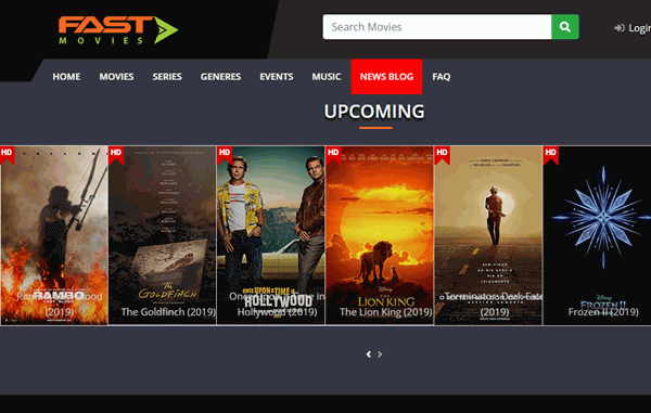 Fastmovies is a free website giving access to a large number of movies and shows all at one place.