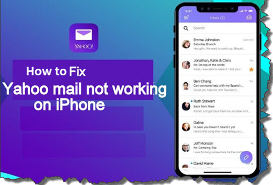 Fix Yahoo Mail Not Working on iPhone