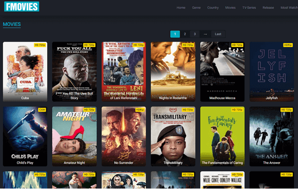 FMoviesFree is another site for streaming movies online free.