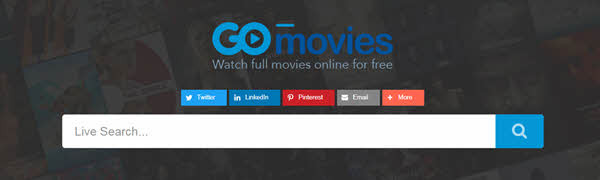 GOMovies provides hundreds of top-rated movies and TV shows that anyone can watch and download for free.