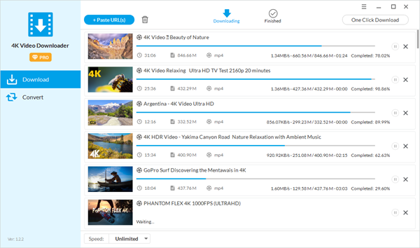 4K Video Downloader is one of the best alternatives to TubeOffline.