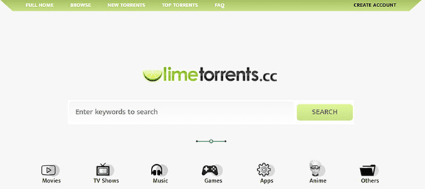 Lime Torrent is another very good option to use in place of EZTV torrent website.