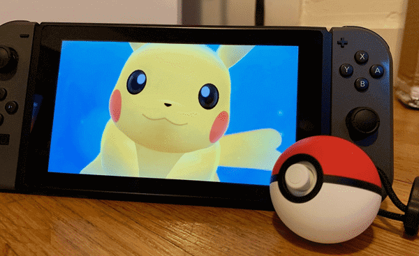 Poké Ball Plus and Nintendo Switch
