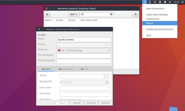 Remmina is a powerful remote desktop client available for free to be used with Linux PC.