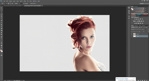Using Adobe Photoshop to Remove Photo Background