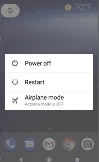 restart mobile phone