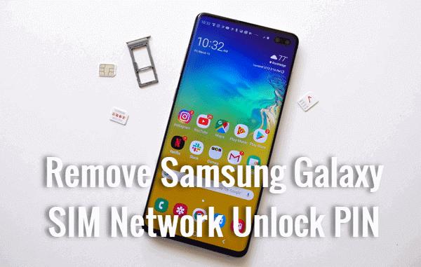 IM Network Unlock PIN from Samsung Galaxy.