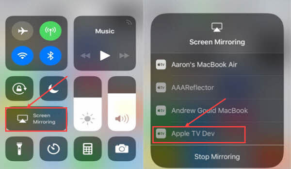 How to AirPlay Videos from iPhone/iPad to Apple TV