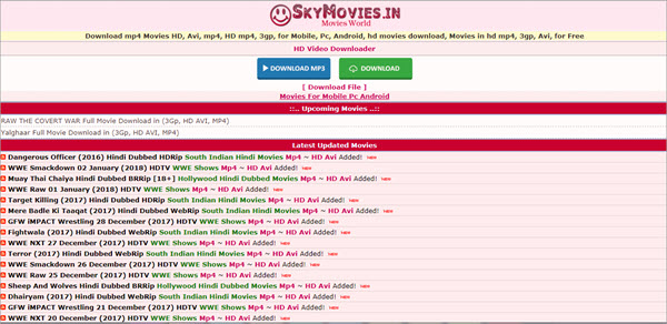 Using SkyMovies to download games and old movies.