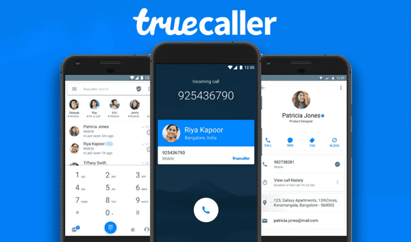 Using Truecaller to trace mobile number exact location.