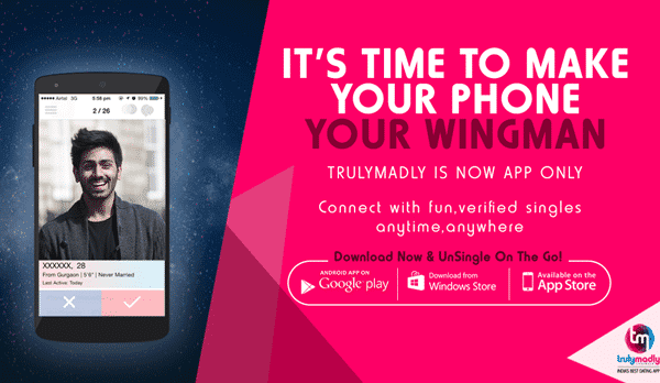 Truly Madly is one of the best free dating Apps like Tinder.