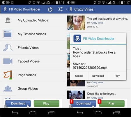 Video Downloader for Facebook is one of the best alternatives to TubeOffline.