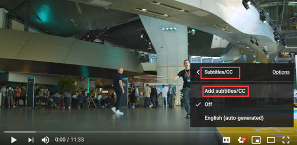 How to Add Subtitles to Others' YouTube Videos